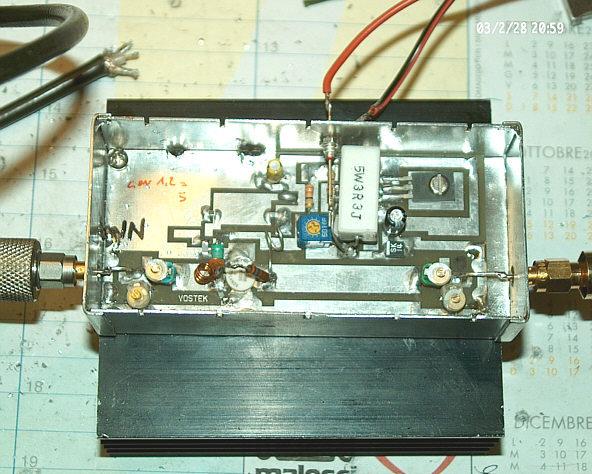 building an rf amplifier in linear a class rh rf links com